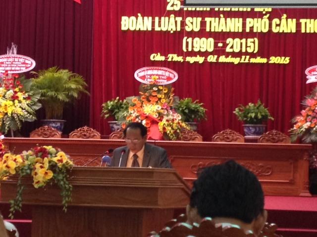 Kỷ niệm 25 năm thành lập Đoàn luật sư TP. Cần Thơ